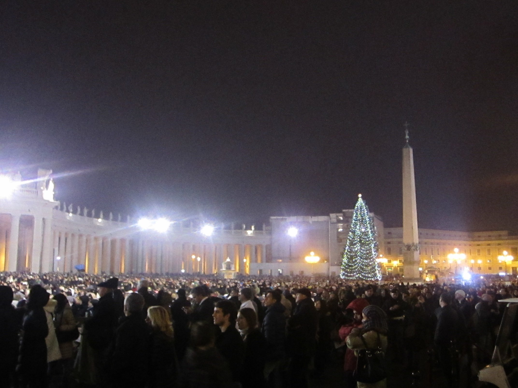 Midnight Mass in St. Peter's Square