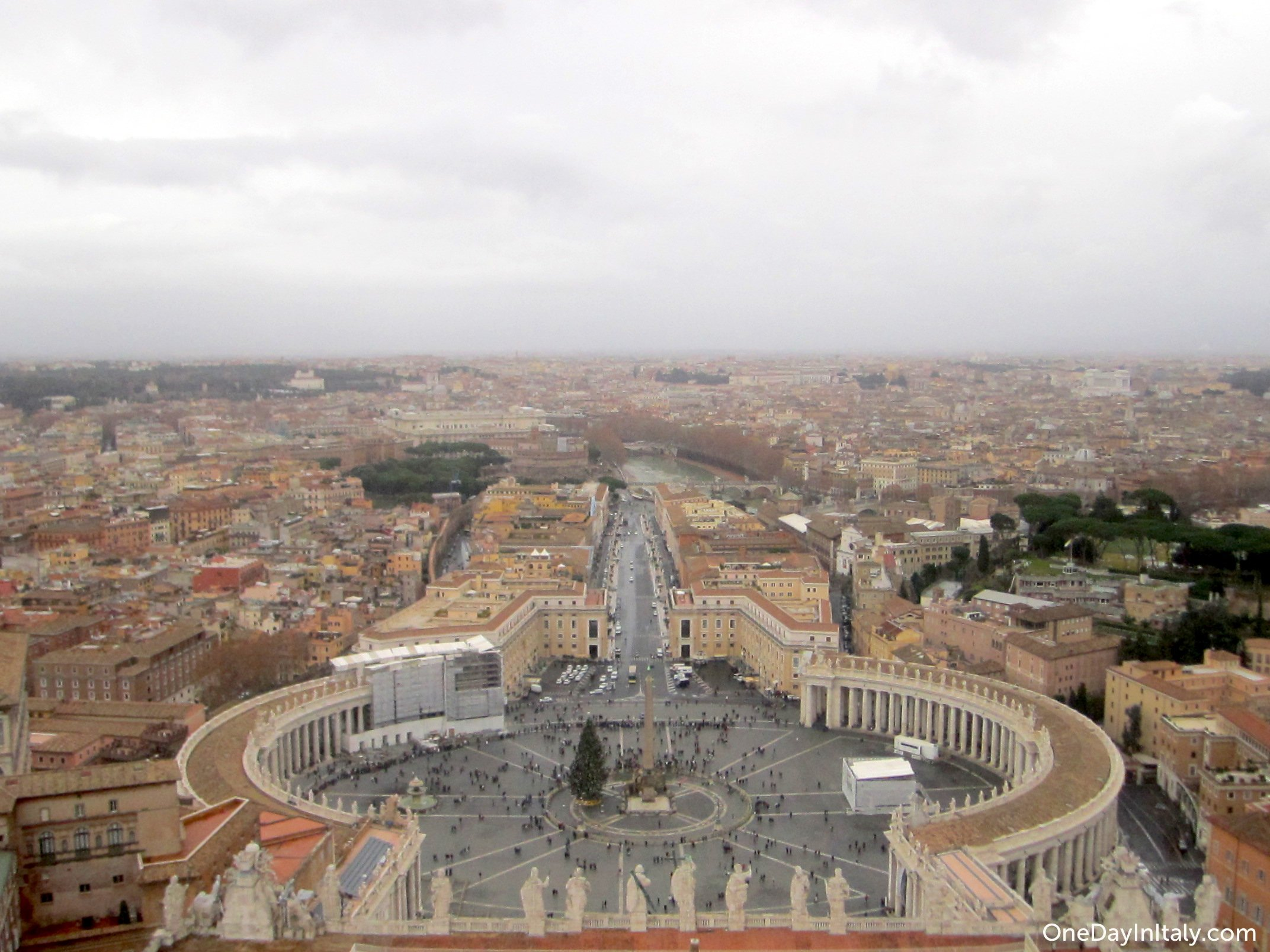 St. Peter's Square from the Cupola