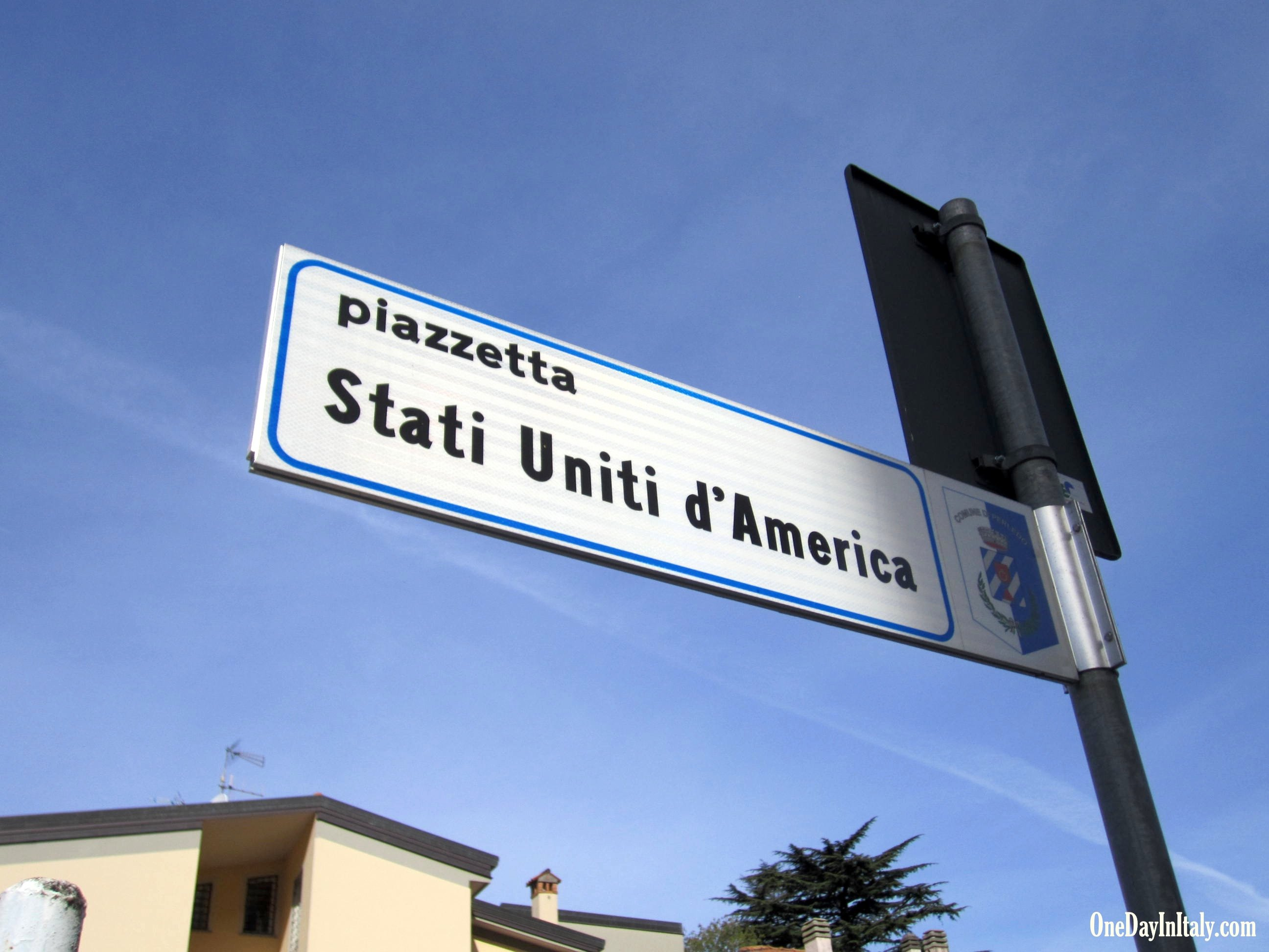 Varenna, Piazetta Stati Uniti d'America
