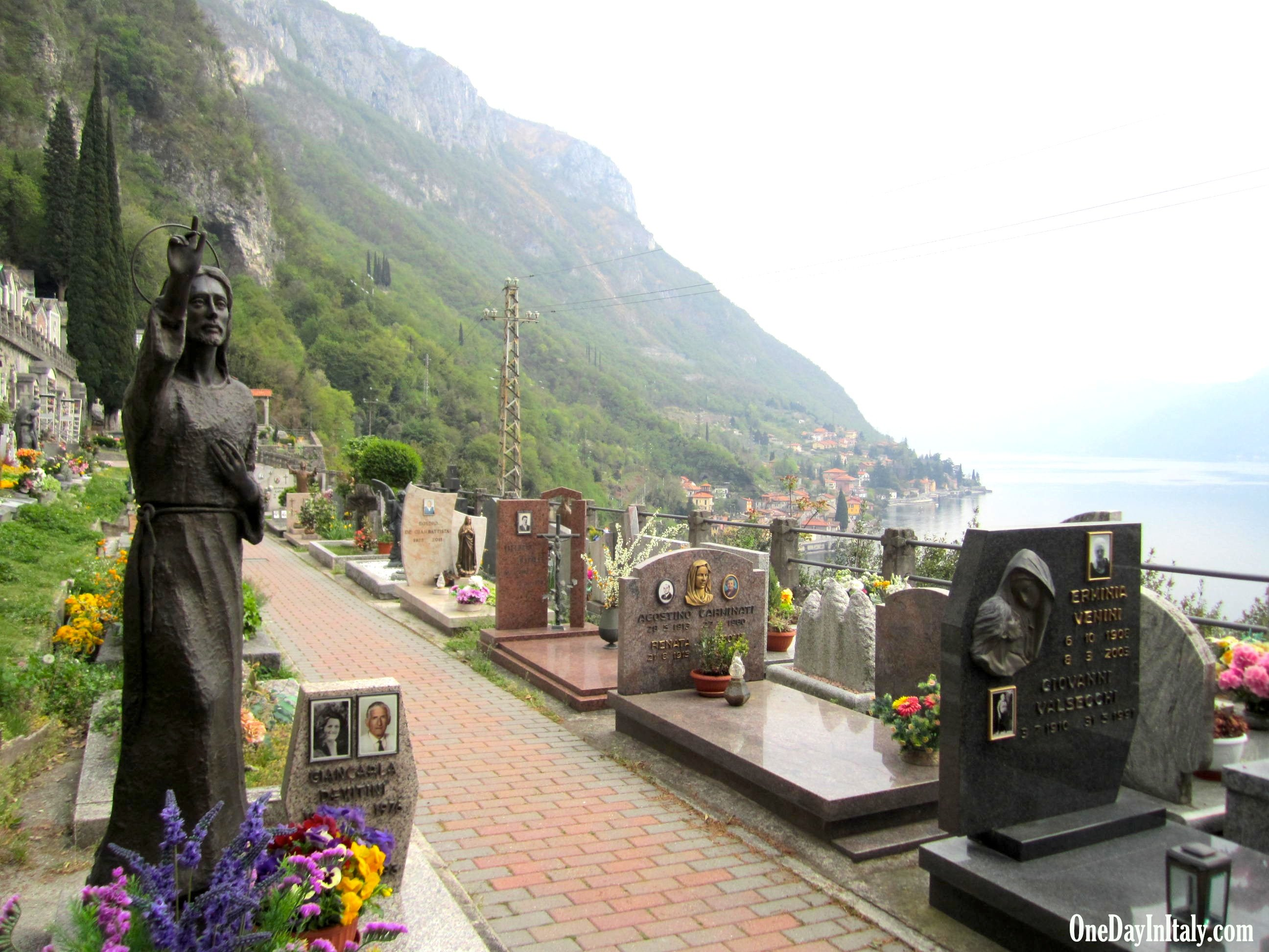 Cemetery above Varenna