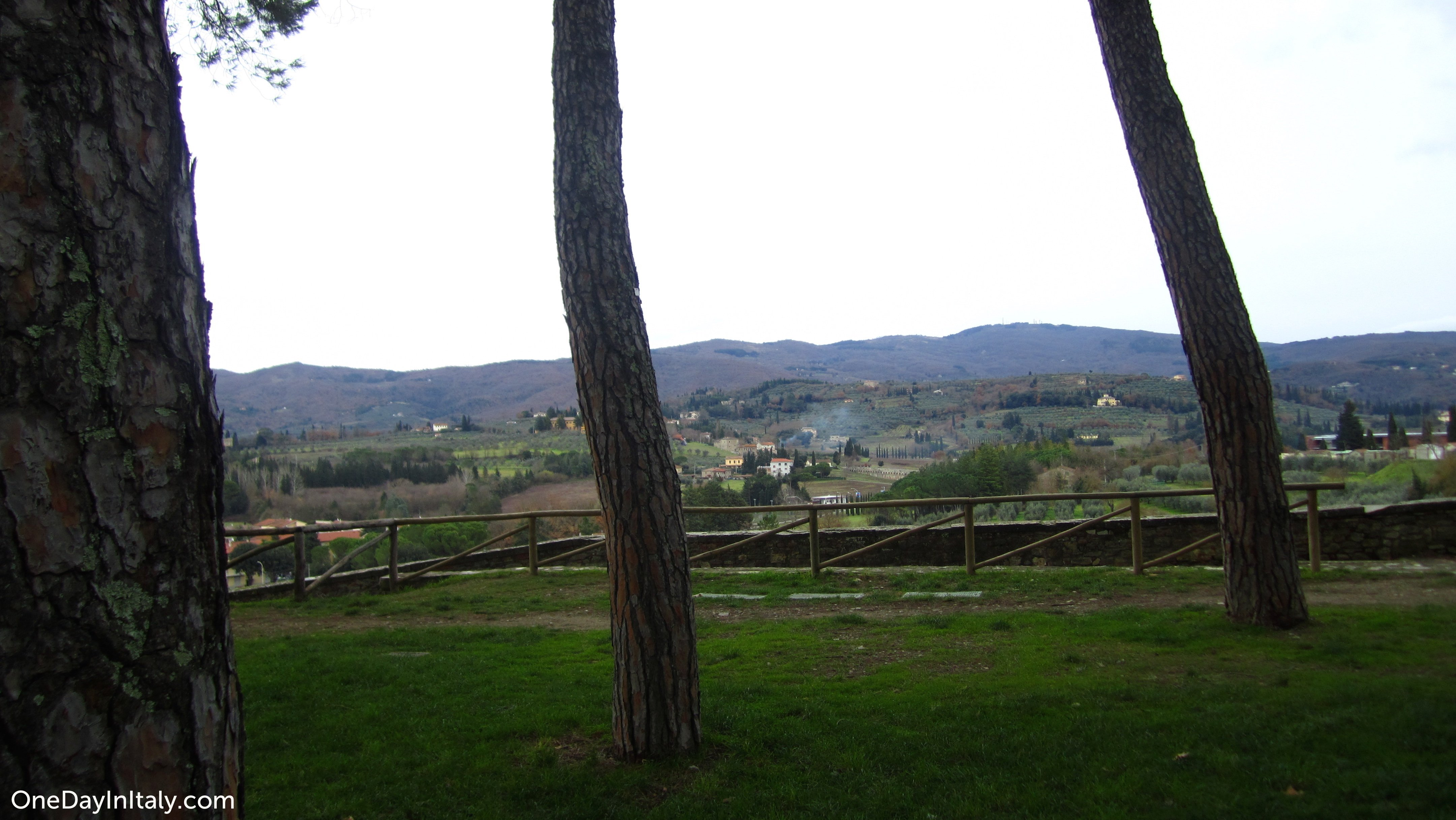 View from Arezzo's Public Park