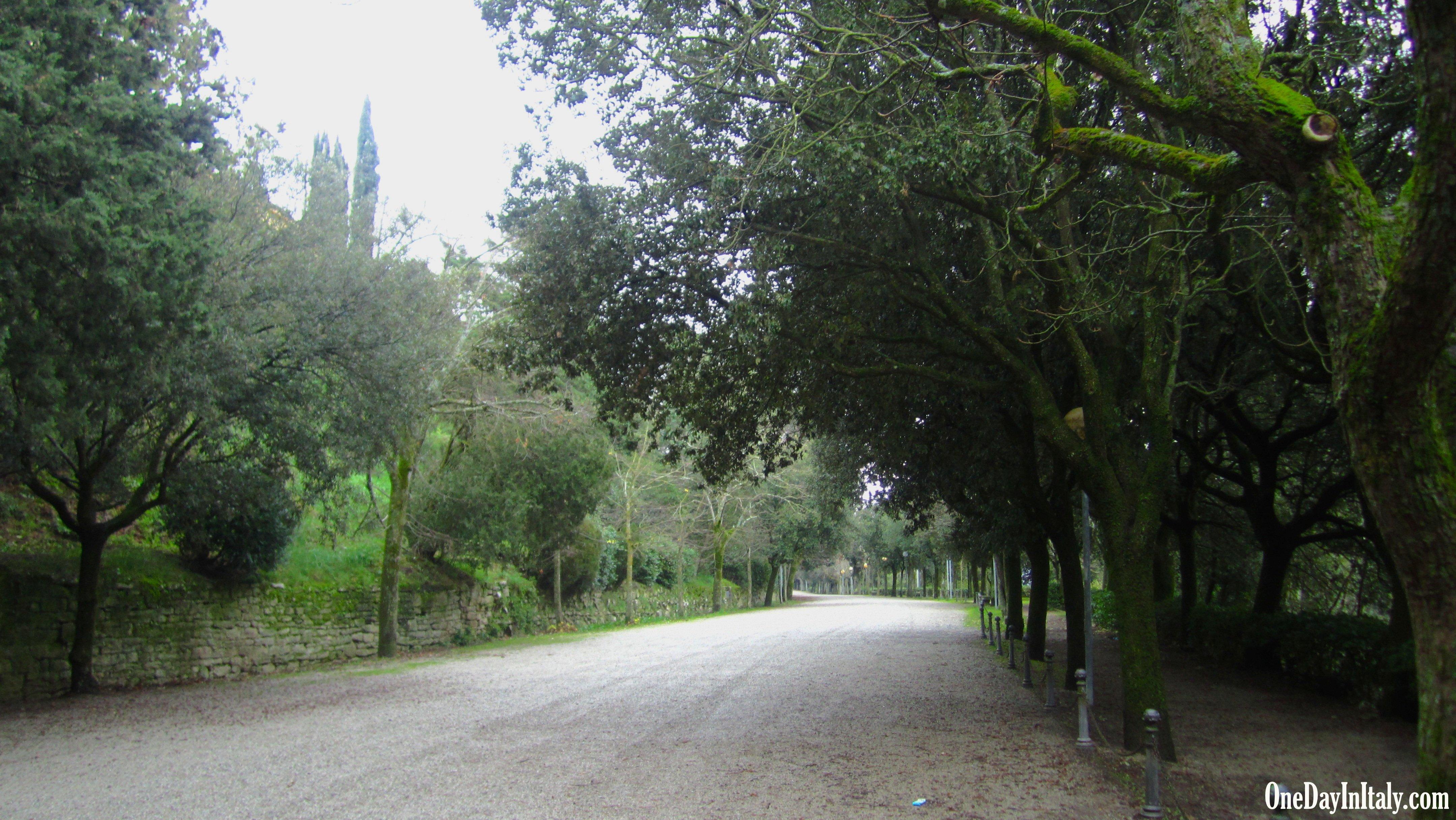 Public park, Cortona