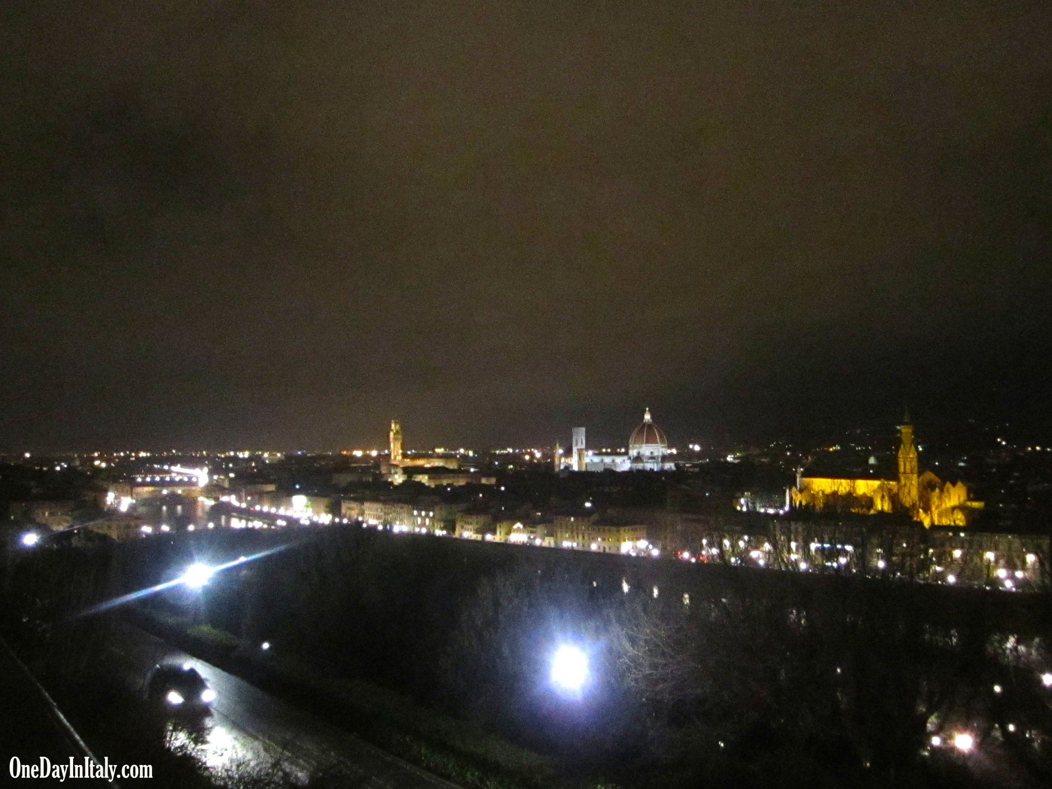 From Piazzale Michelangelo, Florence