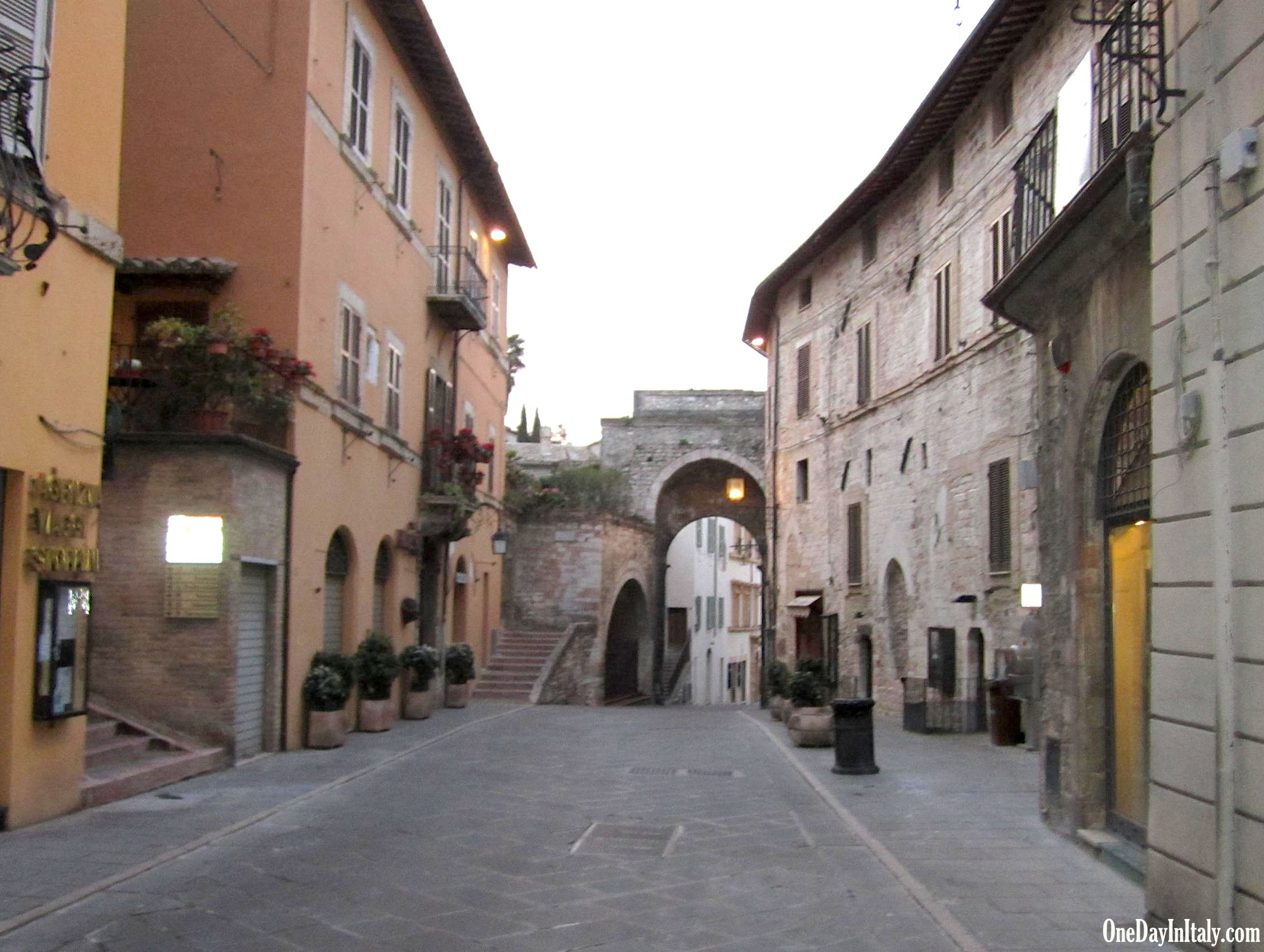 Assisi in the morning