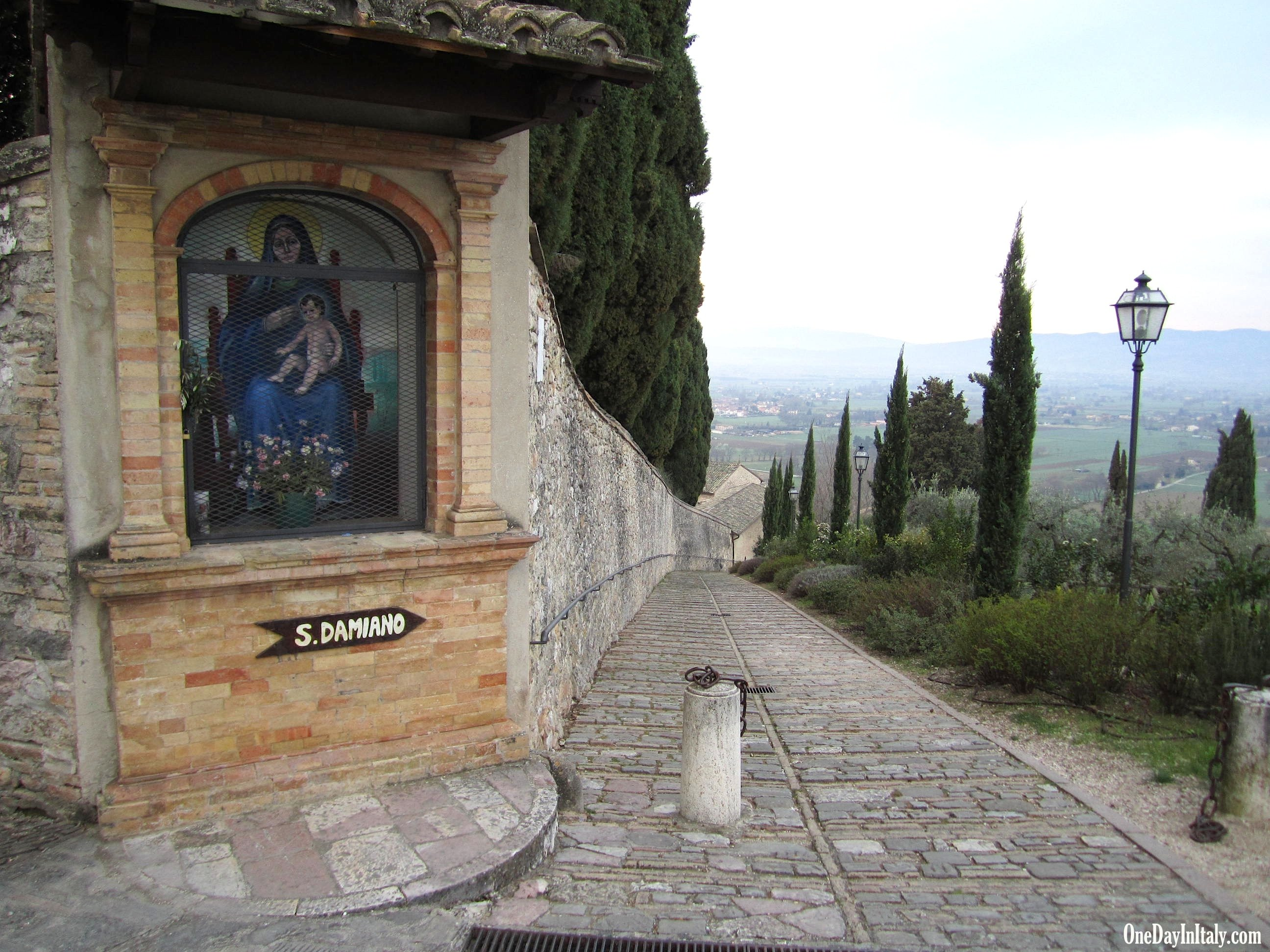 Entrance to San Damiano