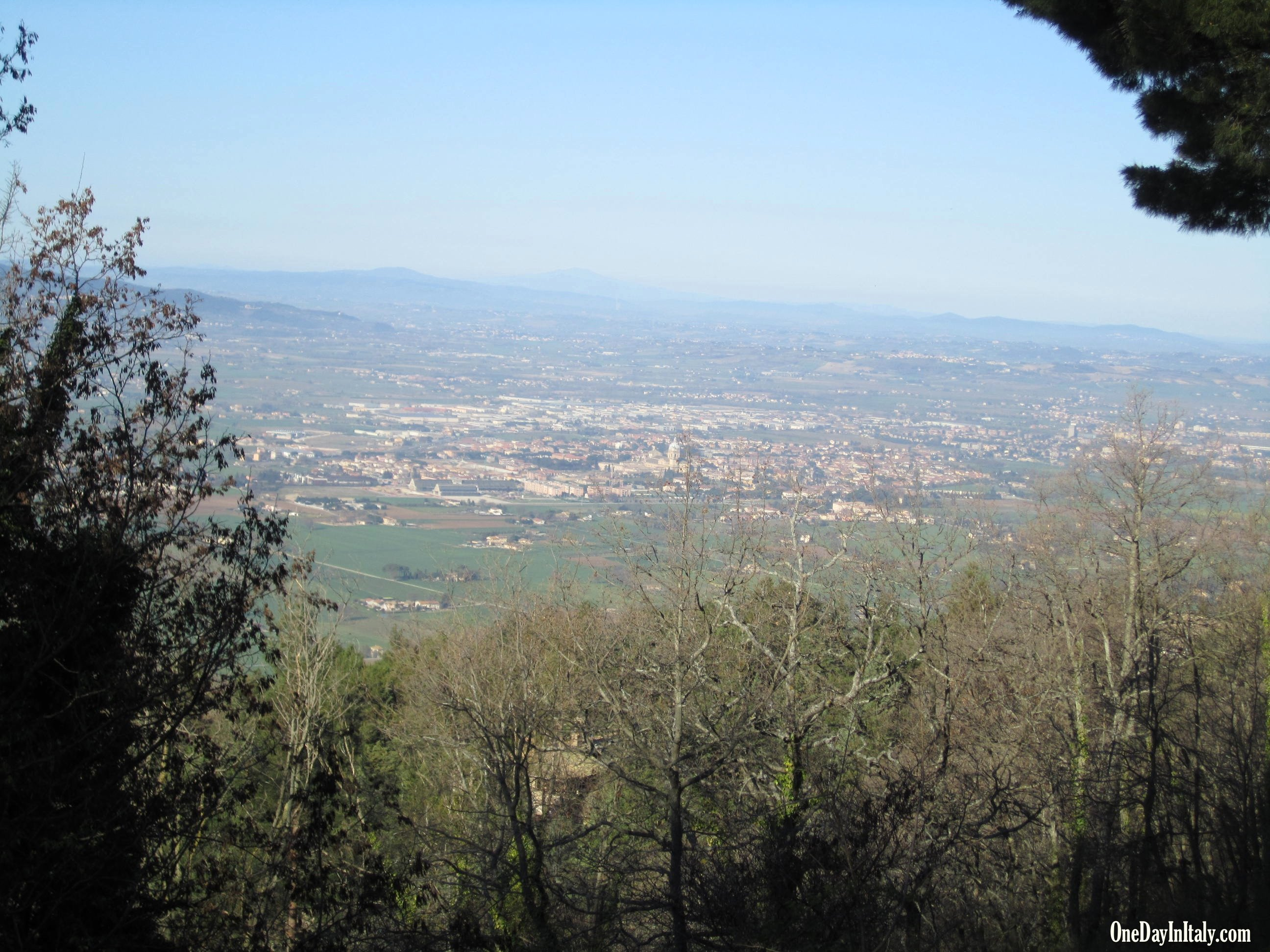 View over the Umbrian Valley