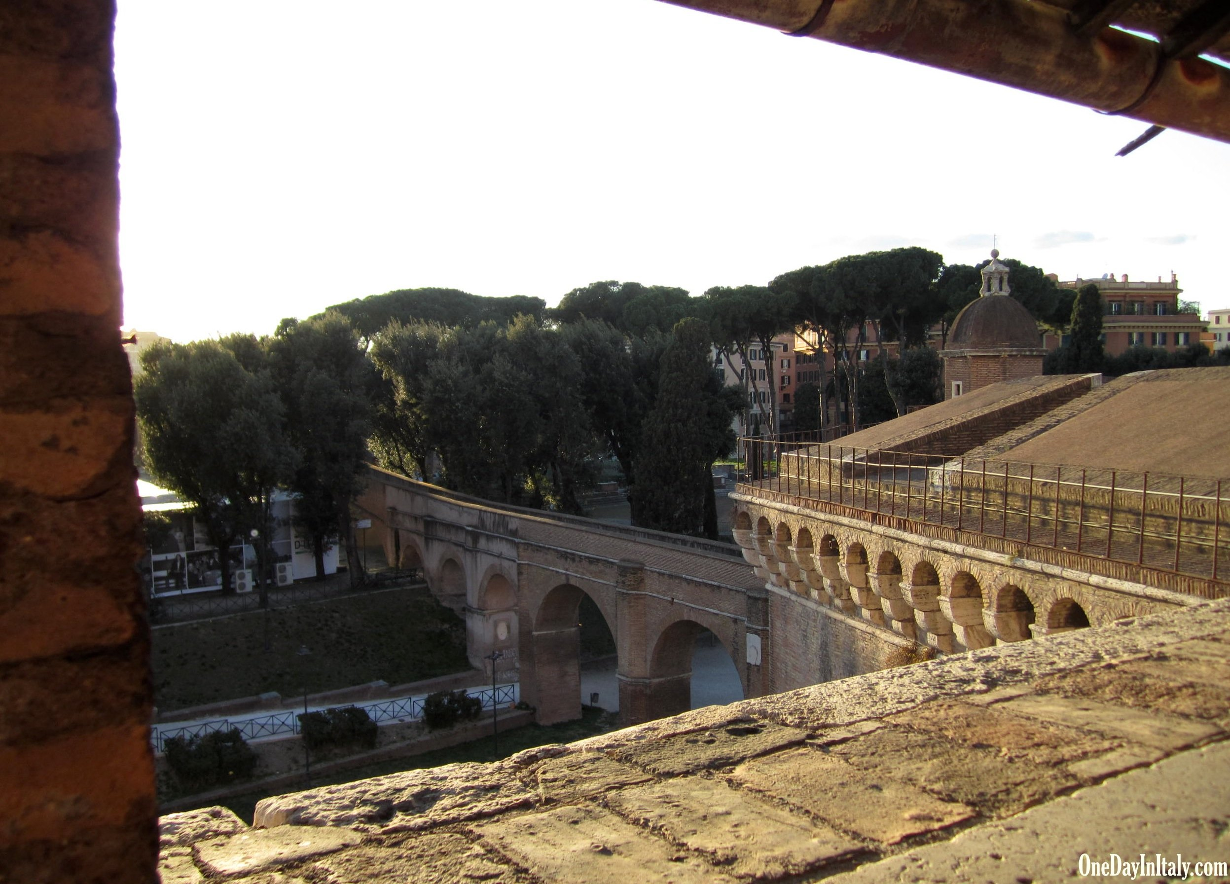 The Passetto from Castel Sant'Angelo