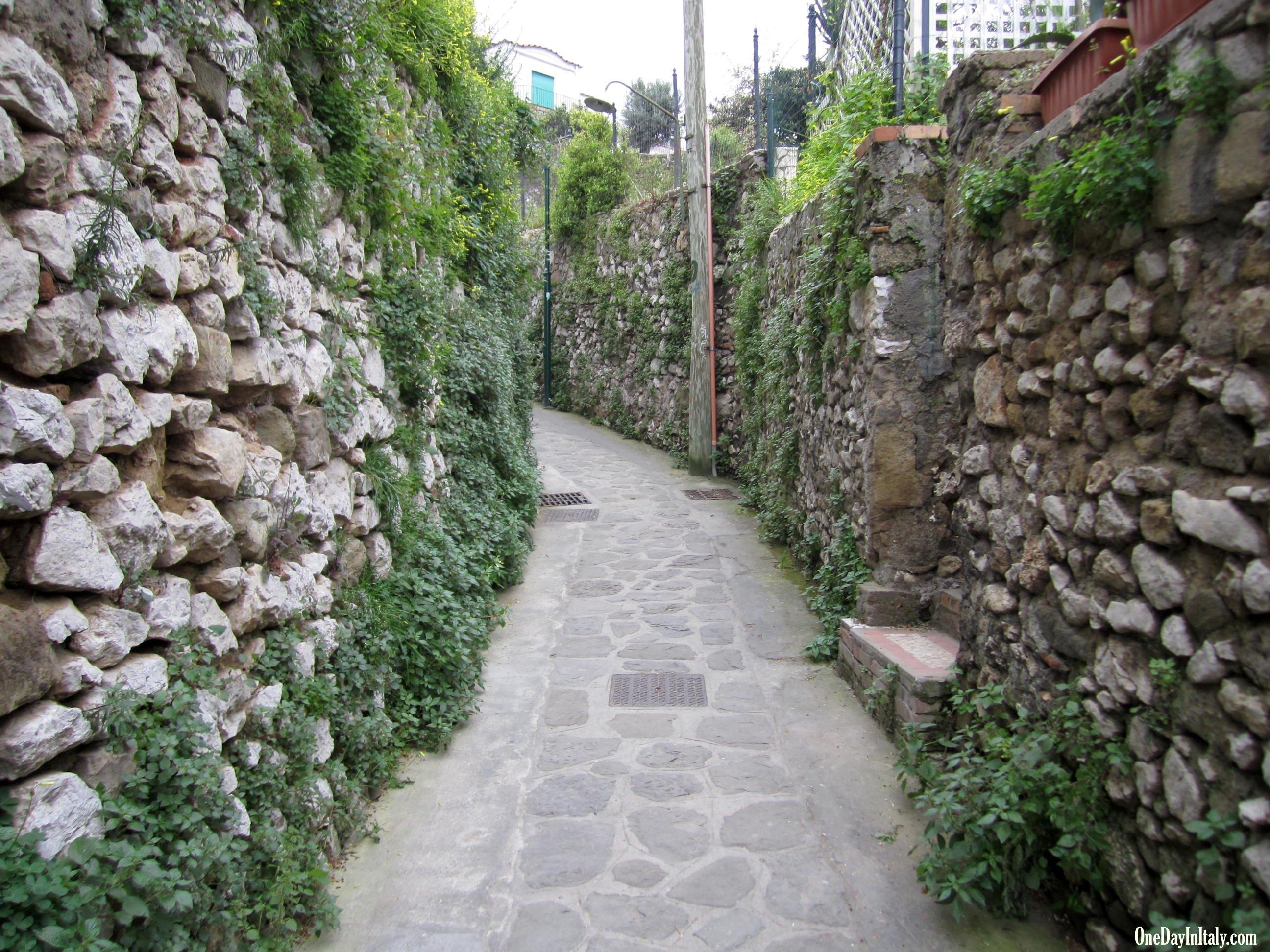 Via Truglio, Capri