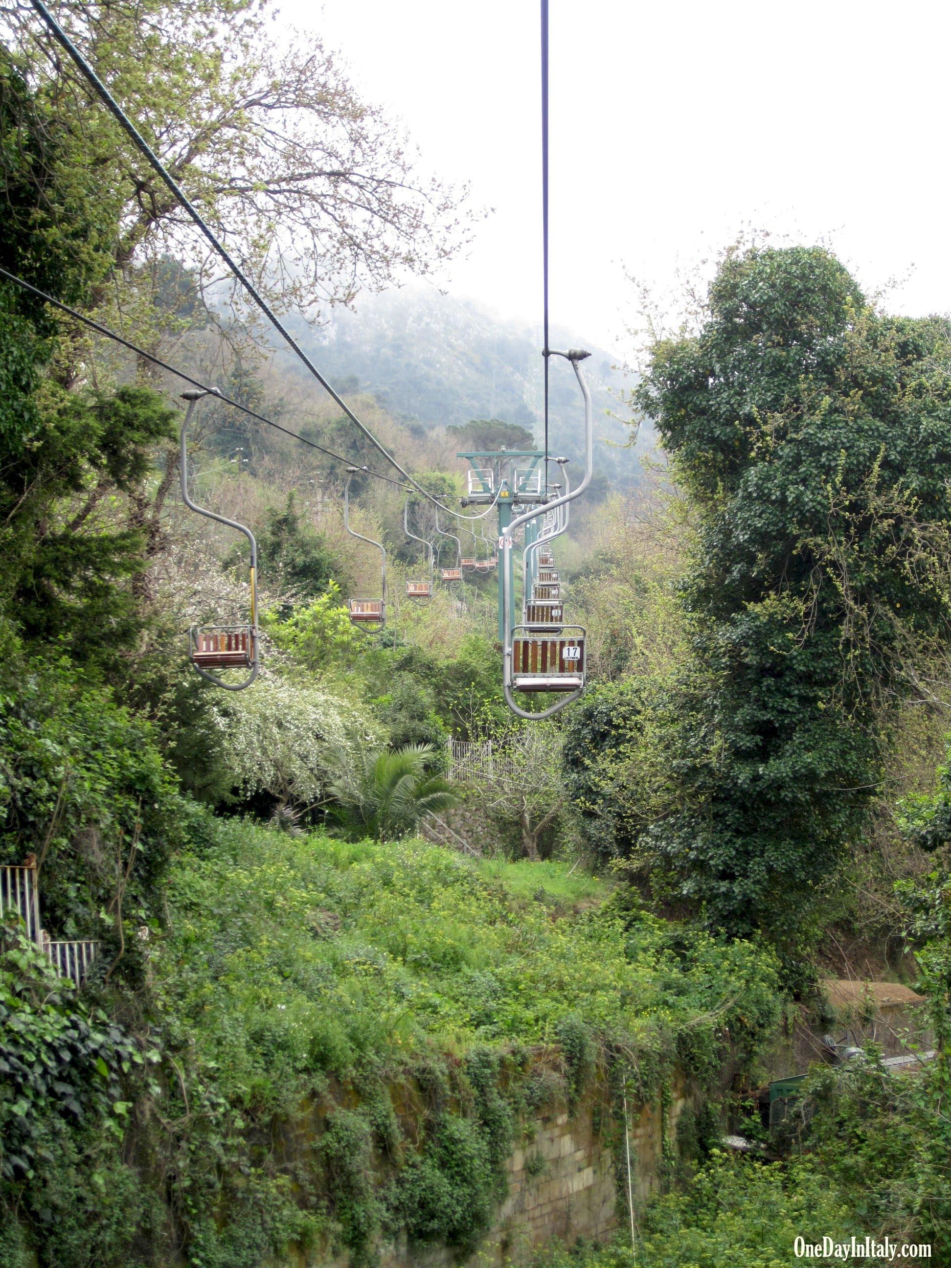 Chairlift, Isle of Capri