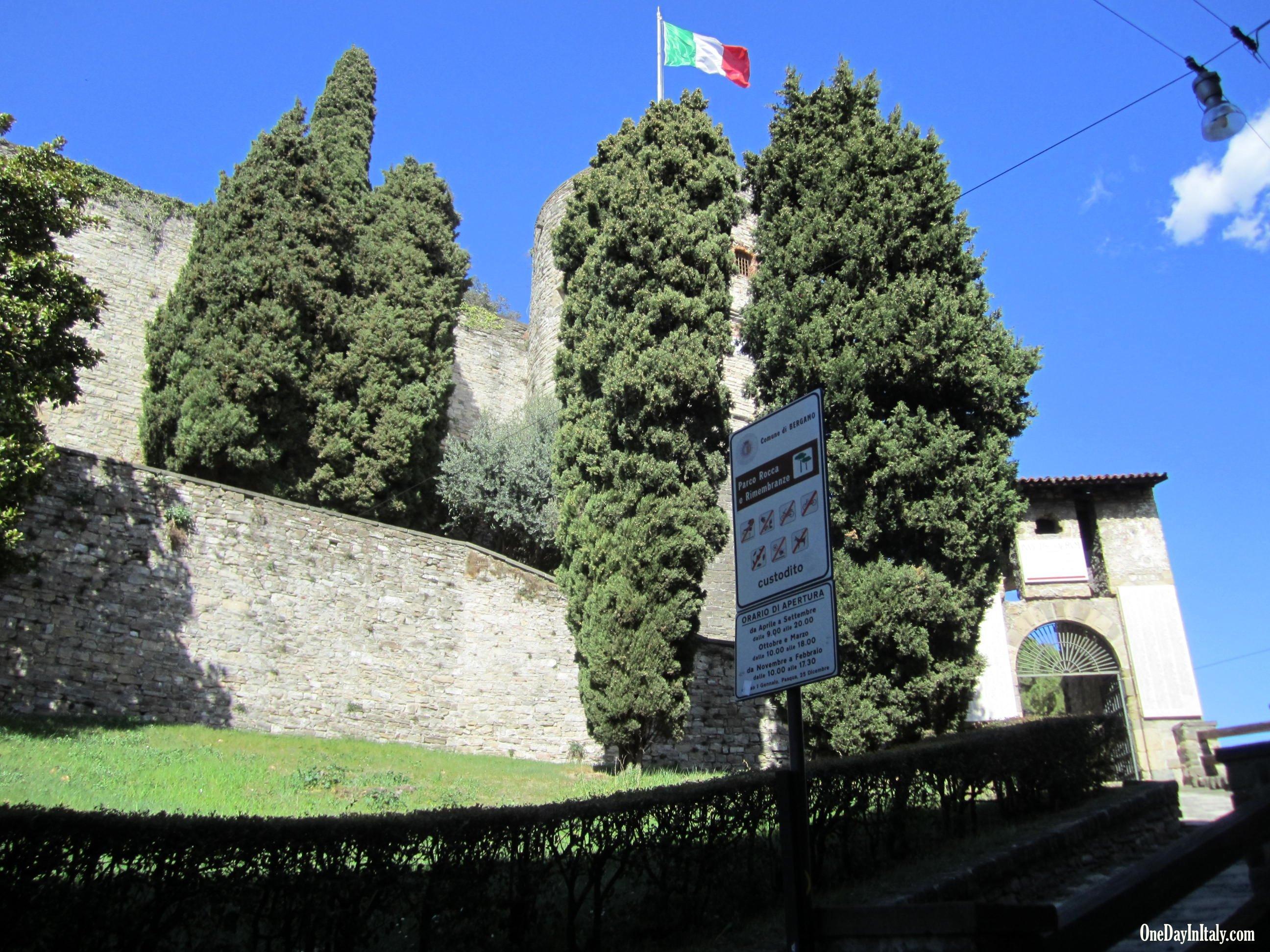 Bergamo's Rocca
