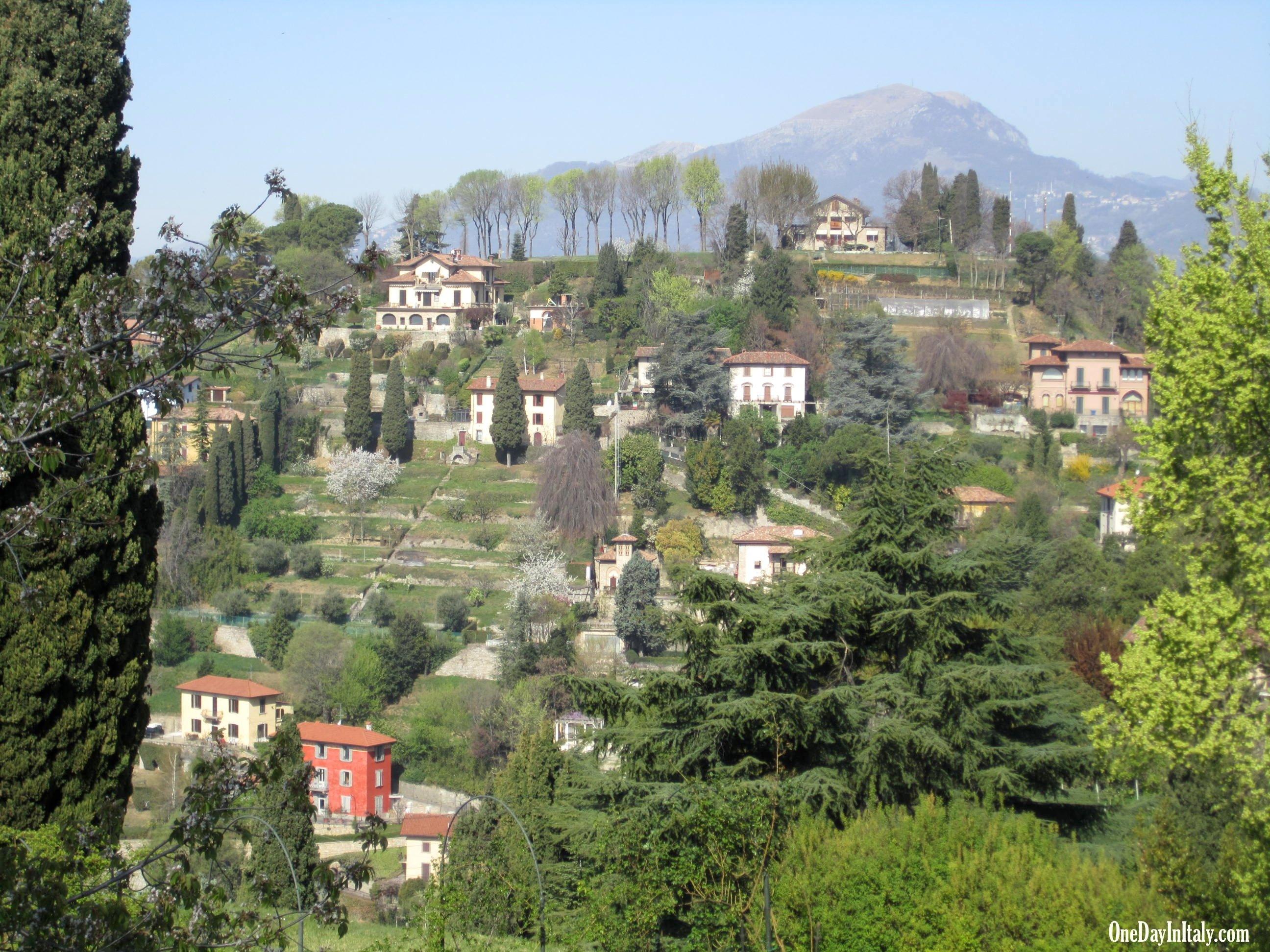 Bergamo's countryside