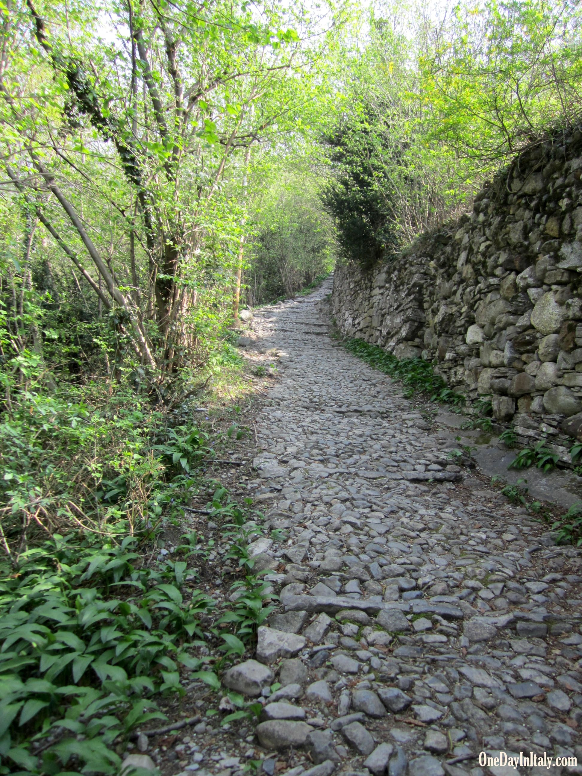 Hiking around Varenna