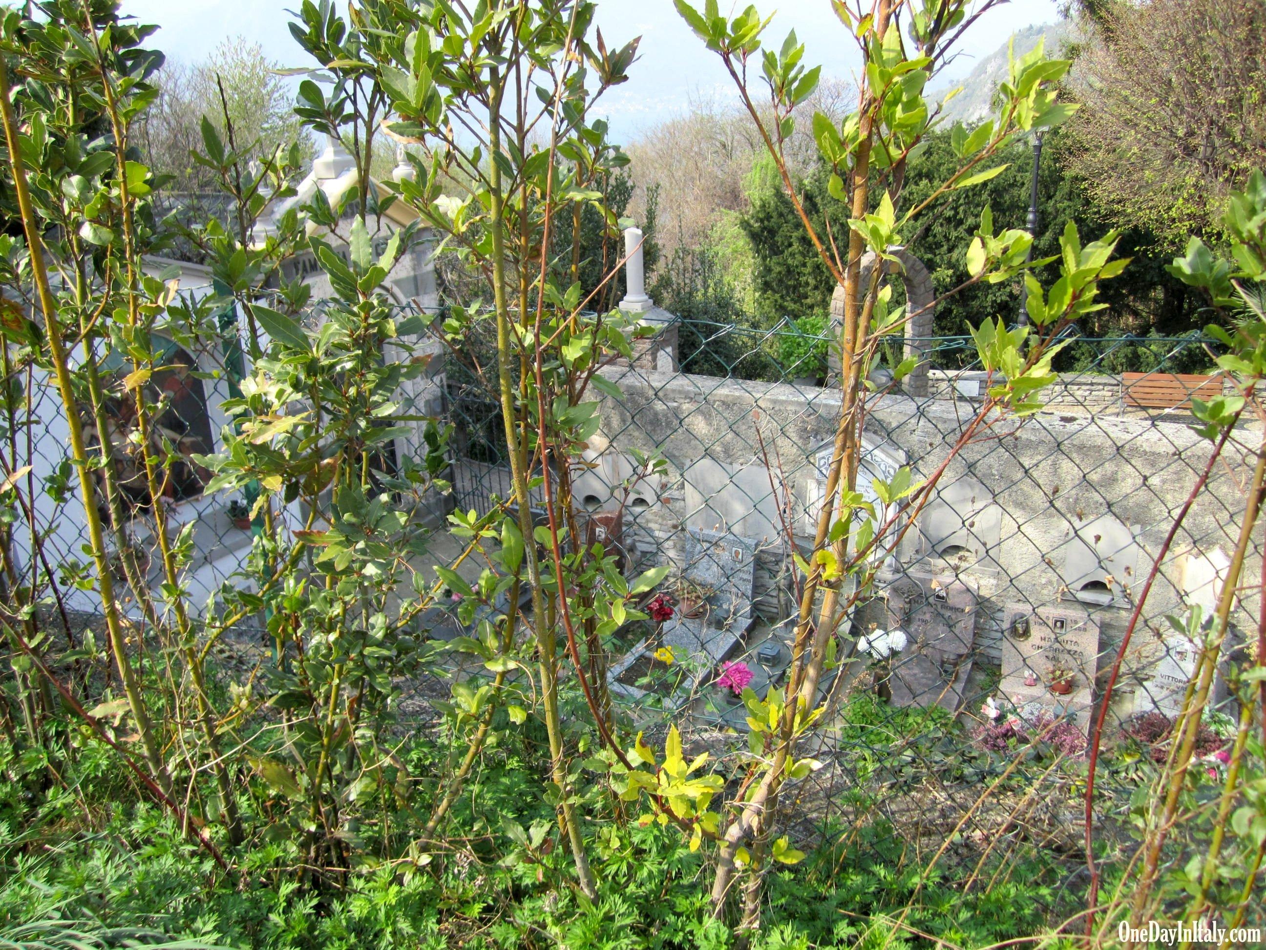 Cemetery at Vezio