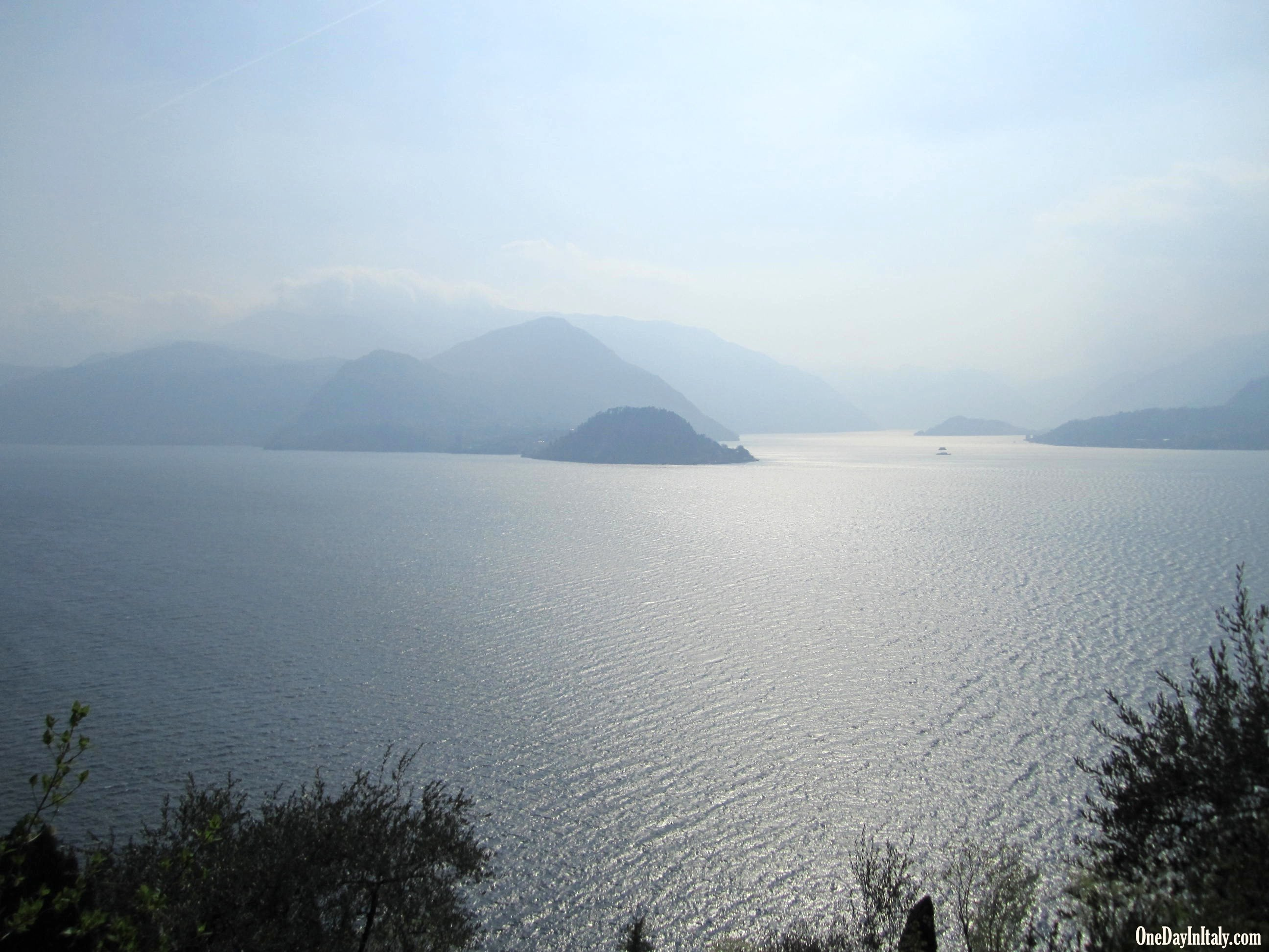 View of Lake Como from Sentiero degli Alpini