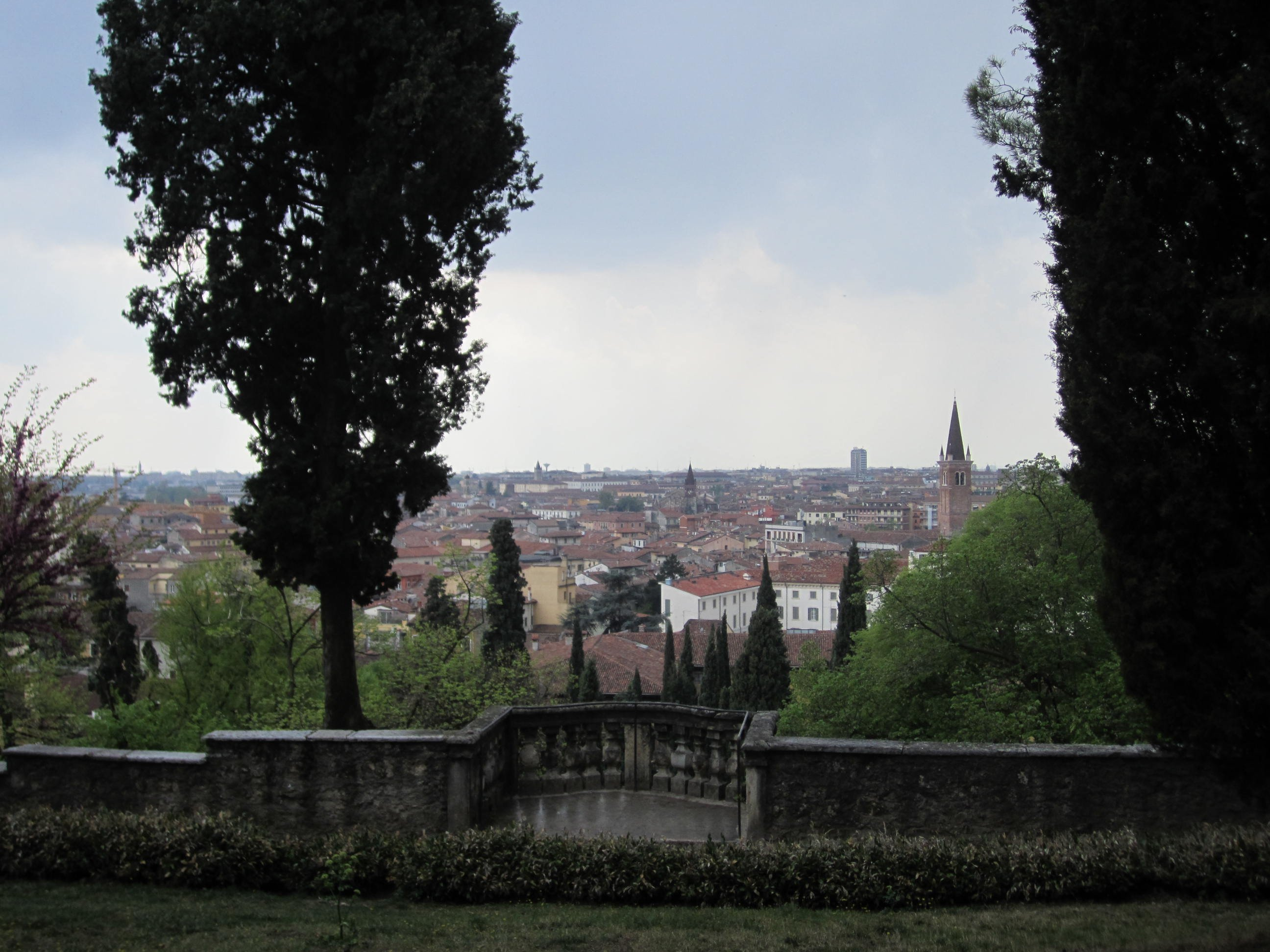 Verona from Giardino Giusti