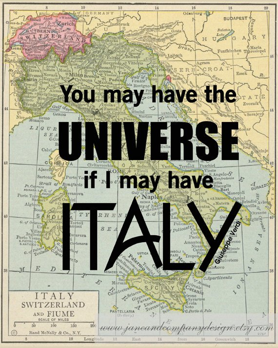You Can Have the Universe...